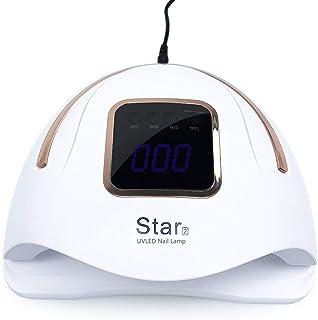 XIRUI Lámpara De Uñas Led Ultravioleta, Secador De Uñas Más Rápido para Esmalte De Gel con Inducción Infrarroja Y Pantalla LCD