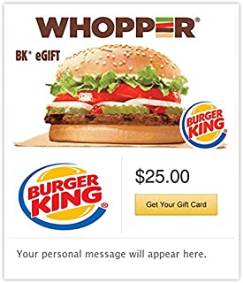 burger king gift card balance