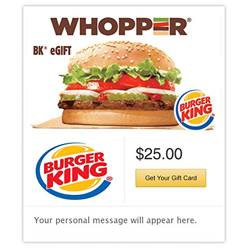 Burger King Whopper - E-mail Delivery