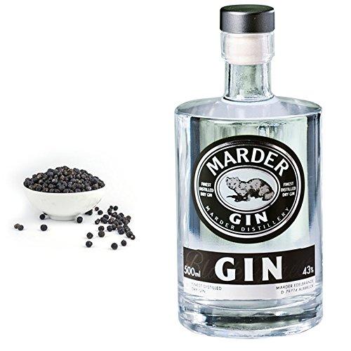 Marder Gin: Klarheit, Reinheit und Eleganz. Gin aus dem Schwarzwald (0,50 L)