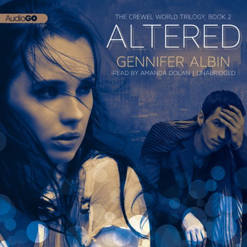 Altered     The Crewel World Trilogy, 2              By:                                                                                                                                 Gennifer Albin                               Narrated by:                                                                                                                                 Amanda Dolan                      Length: 10 hrs and 2 mins     63 ratings     Overall 4.2