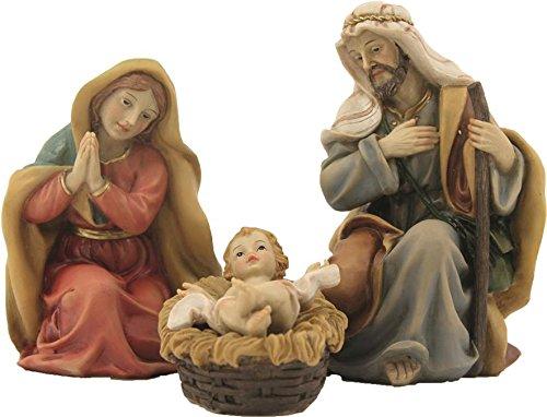 Dekop Krippenfiguren, Heilige Familie 4tlg. orientalisch Höhe ca. 14cm (444635093780)