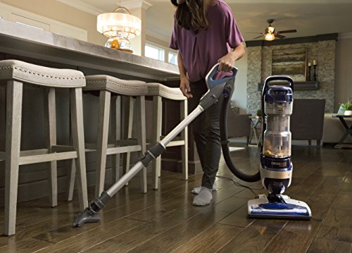 Kenmore Elite 31220 Pet Friendly Bagless Exclusive CrossOver Max Beltless Vacuum with Pet Handi-Mate, Triple HEPA, Telescoping Wand, 6-Position Height Adjustment, 3 Cleaning Tools-Blue/Silver