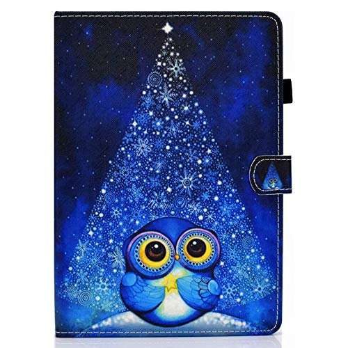 JIan Ying Case for Samsung Galaxy Tab A6 10.1' SM-T580 T585 Slim Lightweight Protective Cover Starry owl