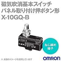 オムロン(OMRON) X-10GQ-B 磁気吹消基本スイッチXシリーズ (パネル取り付け押ボタン形) NN