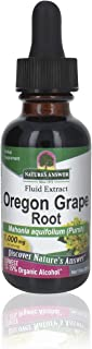 Nature's Answer Oregon Grape Root Extract with Organic Low Alcohol 1 Ounce | Gluten Free | Herbal Supplement | Natural Imm...