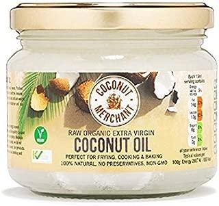 Coconut Merchant Extra-Virgin Organic Raw Coconut Oil 300ml (Pack of 2)