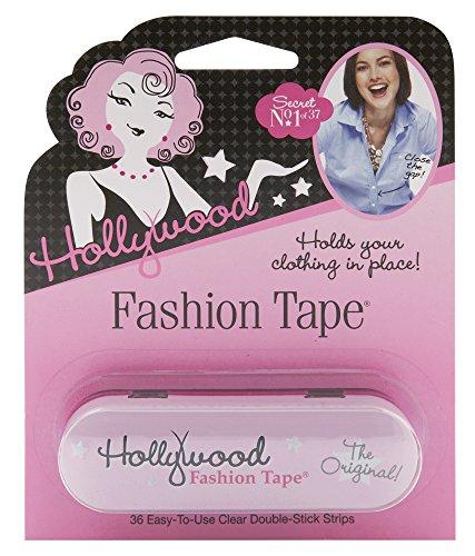 Hollywood Fashion Secrets Medical Quality Double-Stick Fashion Tape, 36 strips Tin
