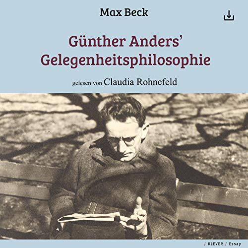 Günther Anders' Gelegenheitsphilosophie Titelbild