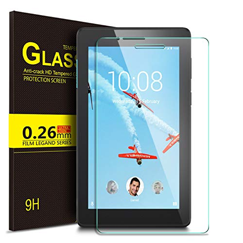 IVSO Screen Protector for Lenovo TAB E7, Clear Tempered-Glass Flim Screen Protector for Lenovo TAB E7 7 inch, 1 Pack