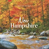 """New Hampshire 2022 Calendar: From January 2022 to December 2022 - Square Mini Calendar 7x7"""" - Small Gorgeous Non-Glossy Paper"""