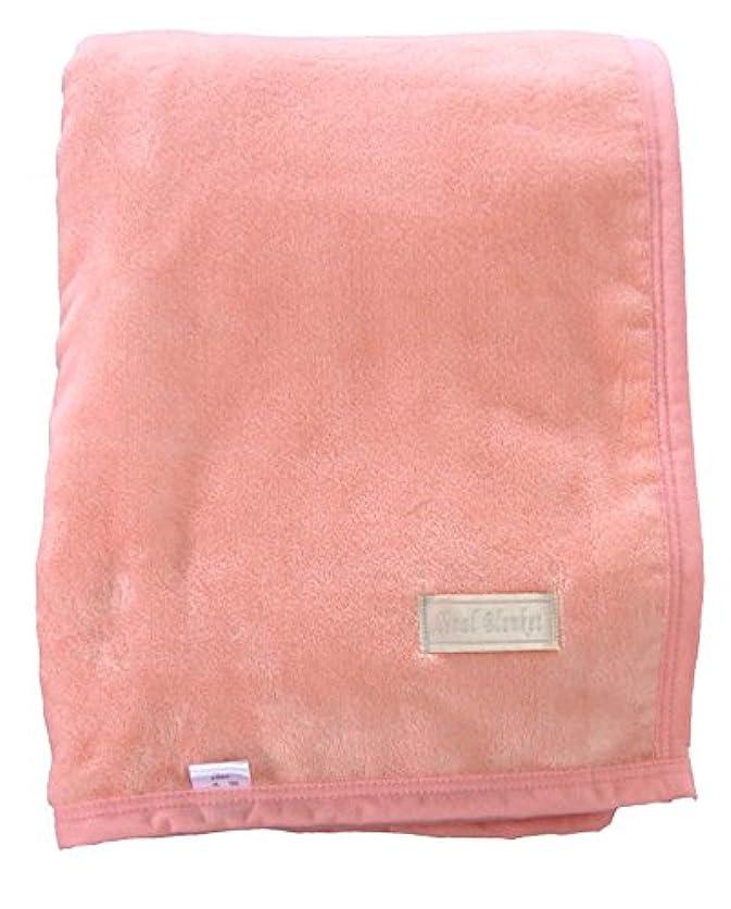 士気子猫永遠にシール織綿毛布(シングル)ピンク