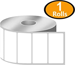 """BETCKEY - 2"""" x 1"""" UPC Barcode & Address Labels Compatible with Zebra & Rollo Label Printer,Premium Adhesive & Perforated[1 Rolls, 1300 Labels]"""