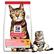 Hills Science Plan Adult Light Cat Dry Food Chicken Flavour 1.5kg A Low Calorie Obesity Weight Contr...