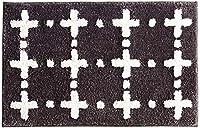 バスルームバスマット滑り止め吸収性と迅速な乾燥カーペット密な触感快適なタッチ(色:グレー、サイズ:50 * 80cm) (Color : Grey, Size : 50*80cm)