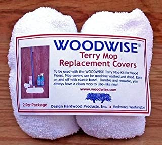 Woodwise Terry Mop Replacement Covers ( 2 PACK )
