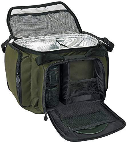 Fox R-Series Cooler Food Bag 2 man - Kühltasche + Campingsgeschirr zum Angeln, Essenstasche zum Karpfenangeln & Wallerangeln