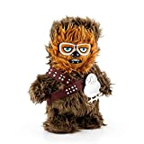 Star Wars Chewbacca Walk n Roar Plush with PORG Pin | 12 inches | Batteries Included