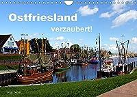 Ostfriesland verzaubert! (Wandkalender 2022 DIN A4 quer): Die rauhe Schoenheit Ostfrieslands eingefangen in ausdrucksvollen Bildern (Monatskalender, 14 Seiten )