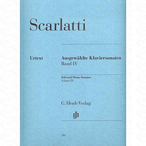 Ausgewaehlte Sonaten 4 - arrangiert für Klavier [Noten/Sheetmusic] Komponist : SCARLATTI DOMENICO