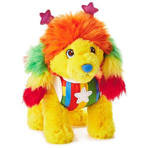 Hallmark Rainbow Brite Puppy Brite Stuffed Animal, 9.5' Classic Stuffed Animals Movies & TV