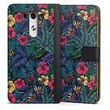 DeinDesign Étui Compatible avec LG G3 Étui Folio Étui magnétique Tropical Fleur Nature