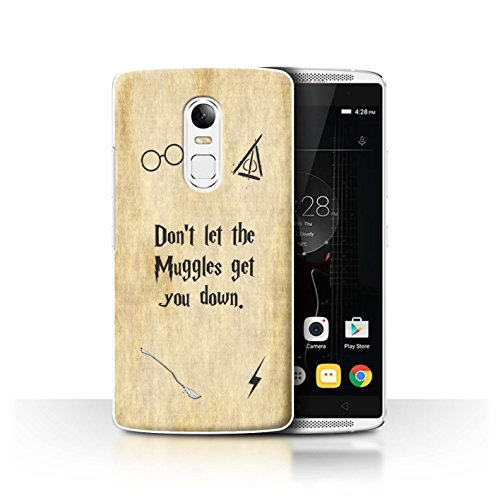 Hülle Für Lenovo Vibe X3 Schule der Magie Film Zitate Muggle Design Transparent Ultra Dünn Klar Hart Schutz Handyhülle Hülle