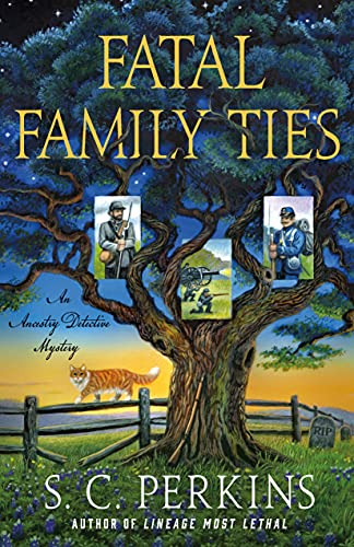 Fatal Family Ties: An Ancestry Detective Mystery by [S. C. Perkins]