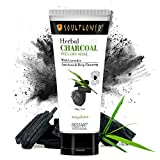 Soulflower Herbal Charcoal Peel Off Mask with Lavender for Deep Cleansing of Pores