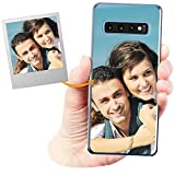 Coverpersonalizzate.it Coque Personnalisable pour Samsung Galaxy S10 avec ta Photo, Image ou...