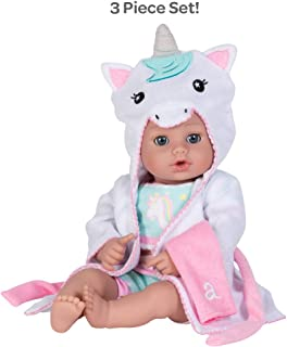 Adora Bathtime Baby Unicorn, 13 inch Baby Born Swimming Doll Toy for Bathtub/Shower/Swimming Pool Time Play