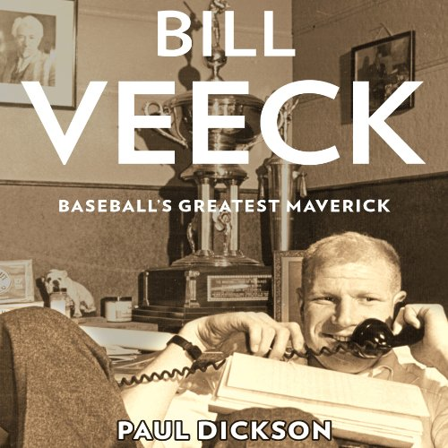 Bill Veeck audiobook cover art