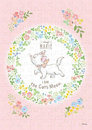 108ピース ジグソーパズル Disney Marie (ディズニー マリー)—milky pink— 【パズルデコレーション】(18.2x25.7cm)