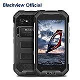 Blackview BV6000S Téléphone Débloqué,Portable Etanche / Antichoc / Antipoussière IP68 Smartphone Robuste ,Dual SIM 4G Android 7.0 Smartphone Incassable 2 GO RAM et 16 GO ROM 4500mAh Grande Batterie 2.0MP+8.0MP Dual Caméra MT6737T Quad Core LTE-FDD / NFC / TMM / PT T / GLONASS - Noir