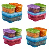 Rubbermaid LunchBlox Sandwich Kit, Food Storage Container, 4-Pack