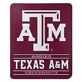 Northwest NCAA Texas A&M Aggies 50x60 Fleece Control DesignBlanket, Team Colors, One Size