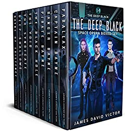 The Deep Black Space Opera Boxed Set by [James David Victor]