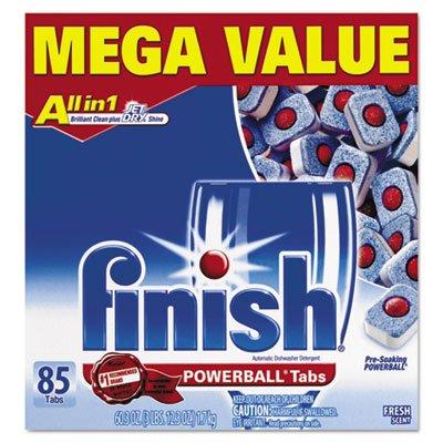 Pestañas para lavavajillas Finish Powerball, aroma fresco, 85 unidades