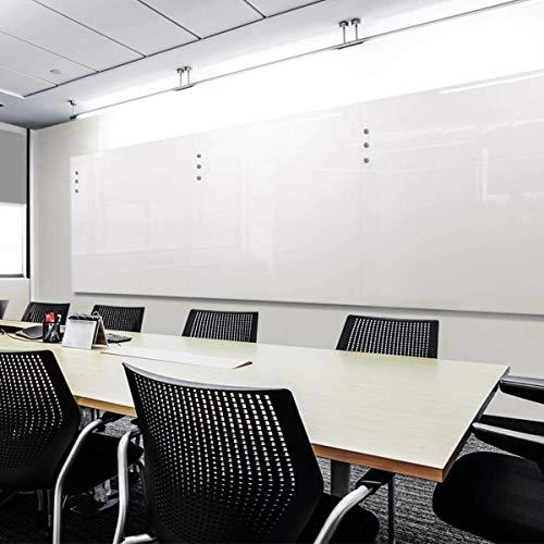 Glas-Whiteboard   Sicherheitsglas   Reinweiß   Rahmenlos   8 Größen (120x180 cm) - 2