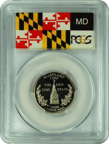 2000 S Maryland Statehood Maryland Statehood Quarter DCAM PCGS PR-70