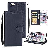 Étui à rabat pour téléphone Boîtier de portefeuille pour iPhone 6 Plus / 6s plus, boîtier...