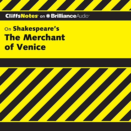 The Merchant of Venice: CliffsNotes cover art