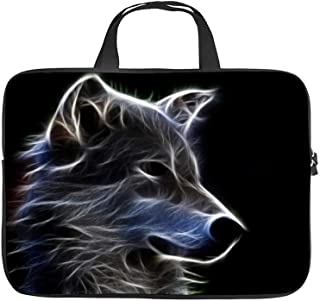 Canidae Snout Carnivore Wildlife Wolf,Universal Laptop Computer Tablet,Pouch,Cover for,Apple/MacBook/HP/Acer/Asus/Dell/Lenovo/Samsung,Laptop Sleeve,29x22x1.5cm