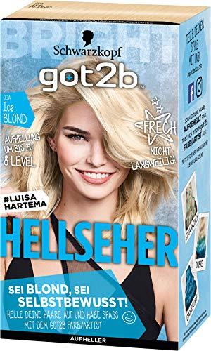 Schwarzkopf Got2b Hellseher Haarfarbe, 00A Ice Blond, 3er Pack (3 x 143 ml)