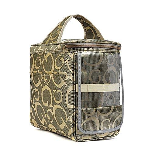 Leichte Kühltasche Mittagessen Picknicktasche Lebensmitteltransport Isoliertasche Outdoorer Kühlbox Verdickung Lunch Tasche Campingbeutel Essen Thermotasche Essenkorb Eistasche zur Arbeit und Schule