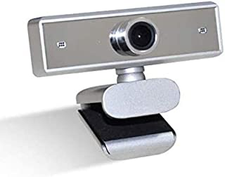 Webcam 1080P/720P/480P 12MP Web Camera with Built-in Microphone USB Plug & Play for Skype Live Class Conference Video Camera Desktop Laptop Computer PC Webcams (1080P)