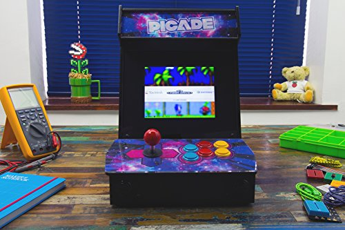 Pimoroni Picade (8-inch) The Raspberry Pi Desktop Arcade.