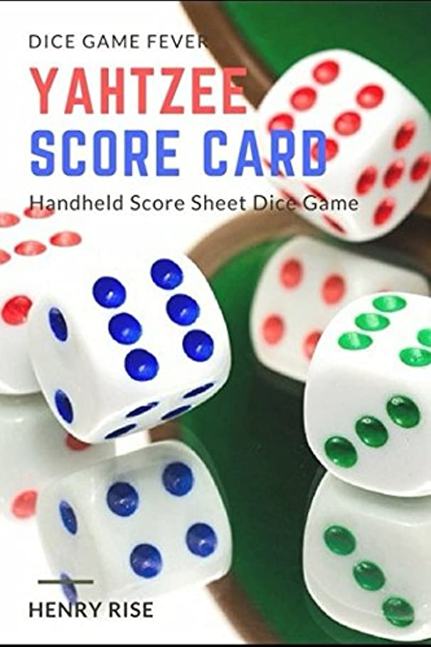 いたずらな誘惑する起訴するYahtzee Score Card: Handheld Score Sheet Dice Game (Yahtzee Dice Game)