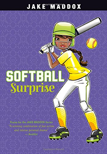Compare Textbook Prices for Softball Surprise Jake Maddox Girl Sports Stories  ISBN 9781434279293 by Maddox, Jake,Wood, Katie