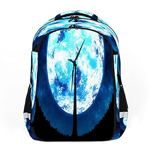 EESTARS Bolsas escolares para niñas y niños, mochila básica resistente al agua, resistente al agua para estudiantes